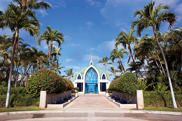 Ko Olina Chapel Place of Joy克歐莉娜教堂