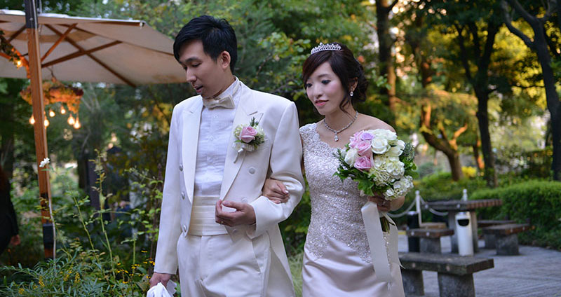 HIBIYA Felice Garden費莉絲花園教堂婚禮