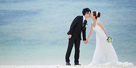 先生有感而發地說:決定來沖繩結婚,真的是很對的事!~Darren&Claire的沖繩婚禮~