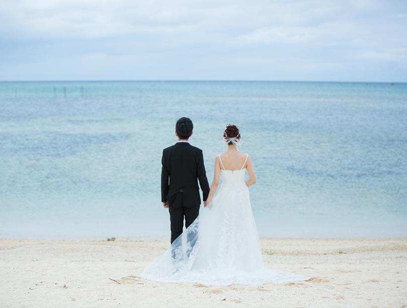 宛如童話故事般的Happy Ending~Darren&Claire的沖繩婚禮~