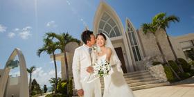 再三回味美好浪漫的婚禮回憶~謝先生&周小姐的沖繩婚禮~