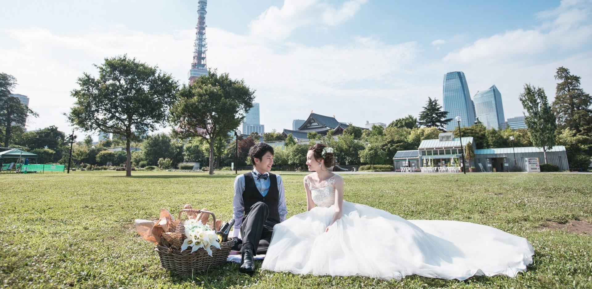 3個外景拍攝 – 日式+西式禮服