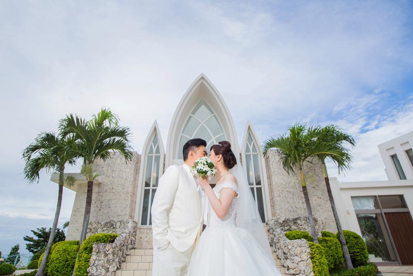 """""""我們是這場婚禮真正的主角""""~Andrew&Rosa的沖繩婚禮~"""